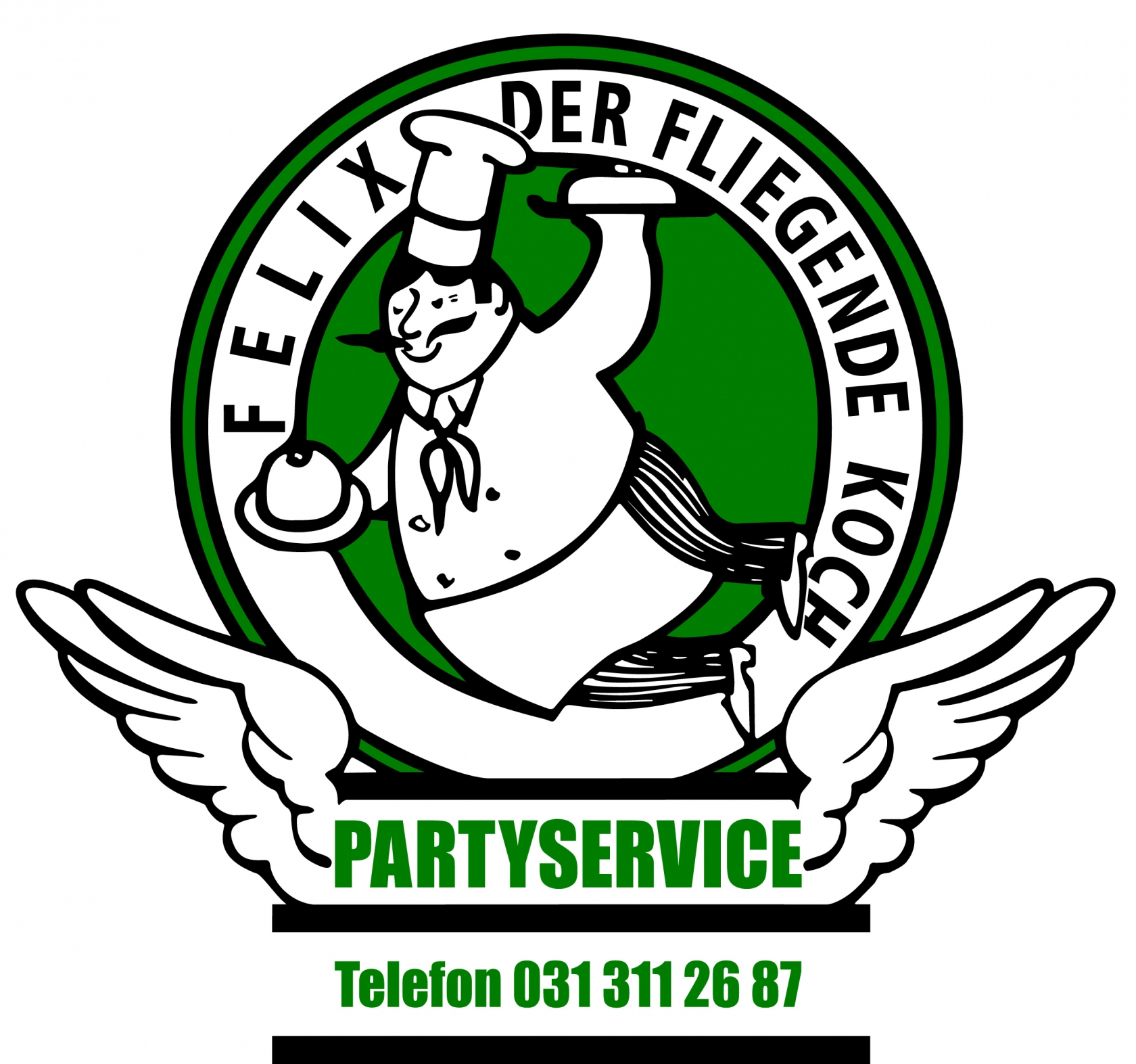 Logo Felix der fliegende Koch